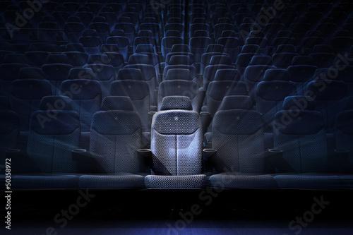 Fototapeta Cinema poltrone