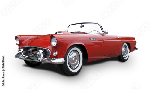 Photo sur Aluminium Vintage voitures Chevrolet Thunderbird