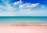 różowa plaża - 50403196