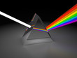 canvas print picture - prism