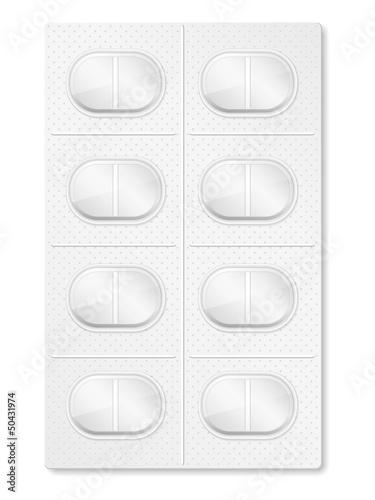 Valokuva Pills in blister pack