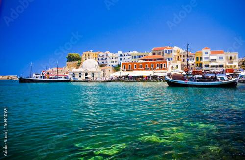 port-i-ulice-chania-kreta-grecja