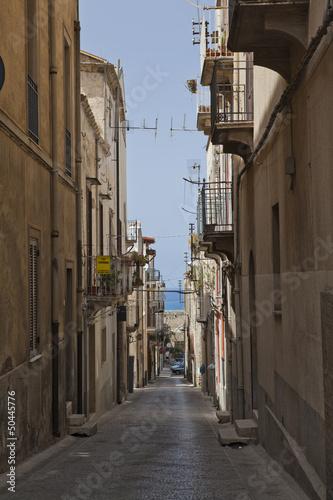 Cuadros en Lienzo Alcamo Town