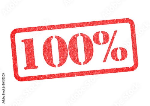 Fotomural  100% Rubber Stamp