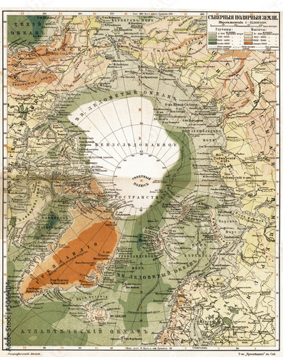 vintage-mapa-arctica