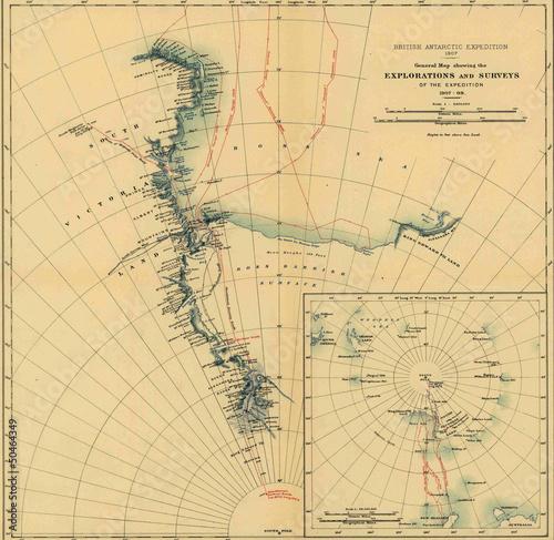 vintage-mapa-antarktydy