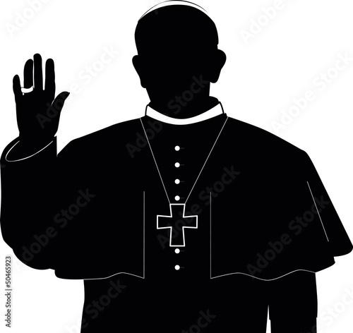 Papst Franziskus Fotomurales