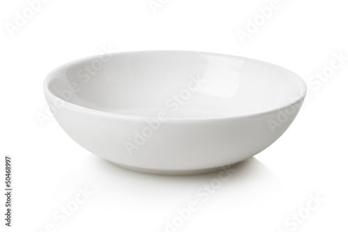 Photo  White bowl