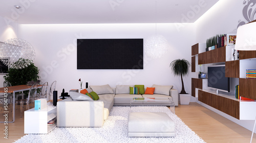 Modernes Wohnzimmer Modern Living Room Buy This Stock
