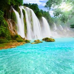 Fototapeta Detian waterfall