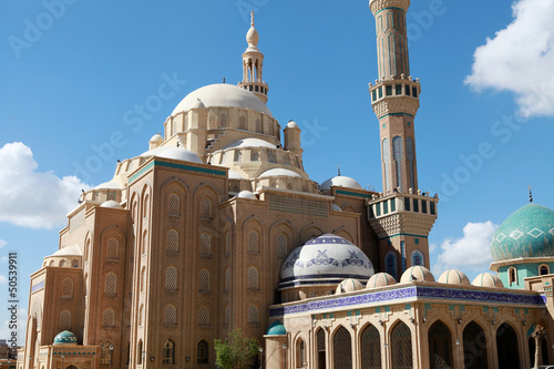 Fotografie, Obraz  Jalil Khayat Mosque Erbil, Iraq.
