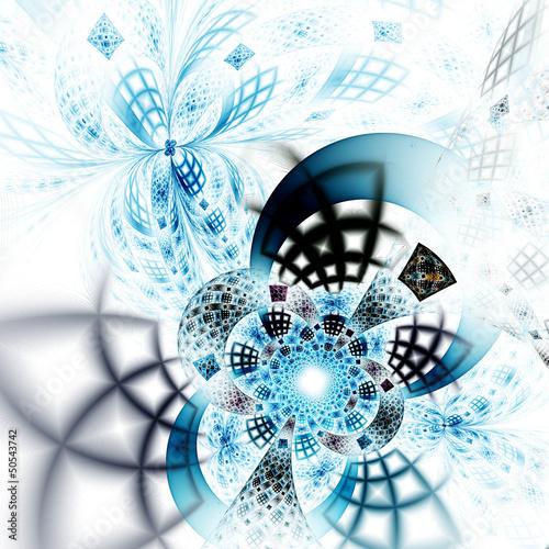 lekki-abstrakcjonistyczny-kwiat-lub-motyl-cyfrowa-fractal-sztuka