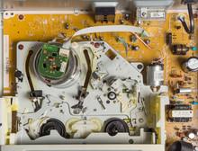 Inside Vhs Video Recorder