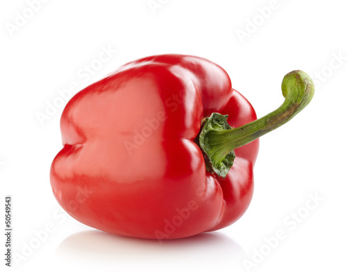 Fotografía  fresh red paprika