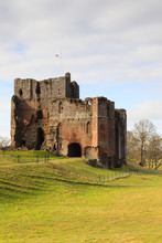 Brougham Castle.  Brougham Castle Near The Town Of Penrith In Northern England.