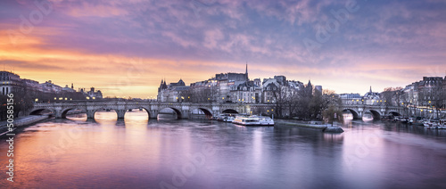 Tuinposter Parijs Iles Saint Louis paris
