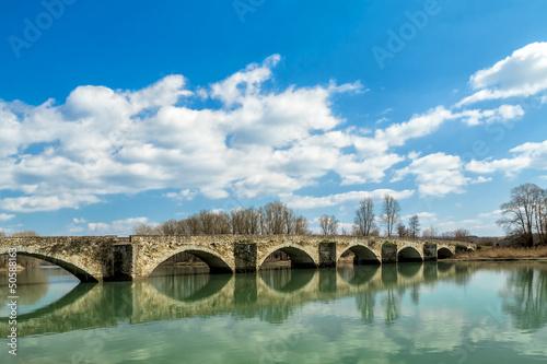 Staande foto Artistiek mon. Buriano's bridge