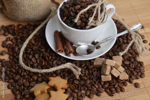 Fototapety, obrazy: coffee beans