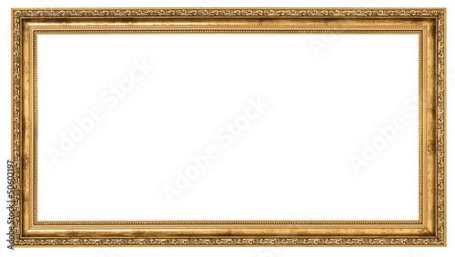 Obraz Extremely long golden frame - fototapety do salonu