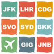 world airports icons