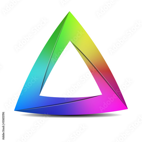 Impossible triangle sign