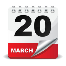20 MARCH ICON
