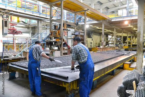 Poster Industrial geb. industrielle Fertigung // industrial production