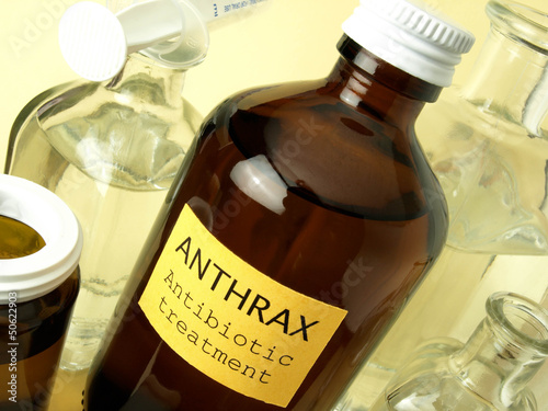 Anthrax laboratory Canvas Print