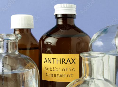 Anthrax laboratory tests Wallpaper Mural