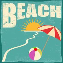 Beach Retyro Poster