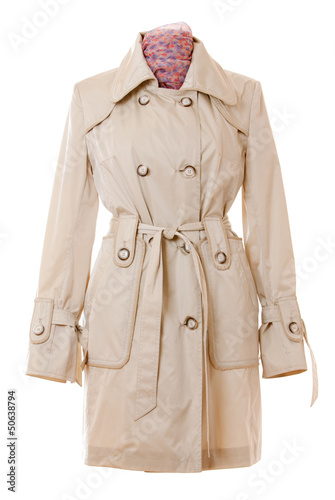 Fotografie, Tablou  coat isolated