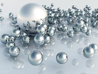 Panel Szklany 3D 3D Pearl