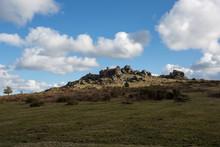 Hound Tor Dartmoor National Park Devon Uk