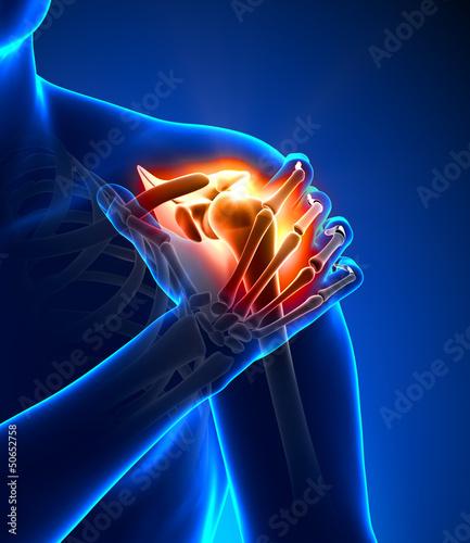 Photo Shoulder pain - detail