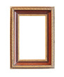 Vintage wood photo frame