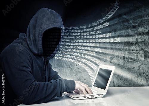 Fotografía  no face hacker
