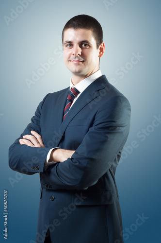 Fotografia Smiling businessman