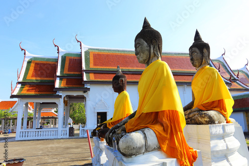Sacred Buddha images in Surat thani, Thailand