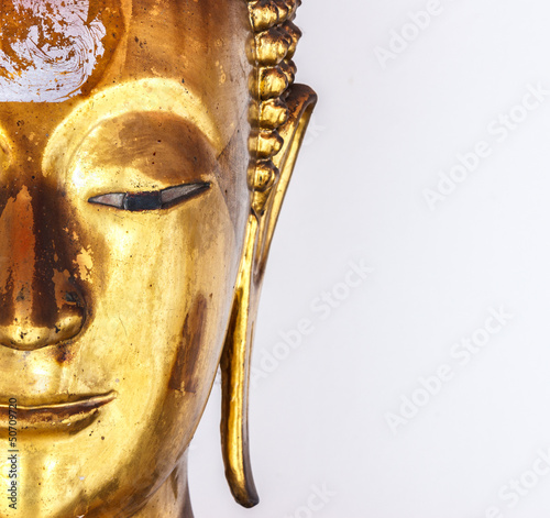 Fotografie, Obraz  Buddha statue