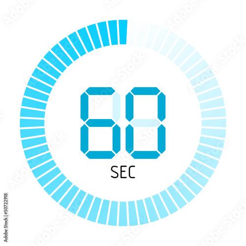 Photographie  timer rund 60 sec I