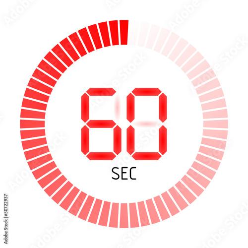 Photographie  timer rund 60 sec II