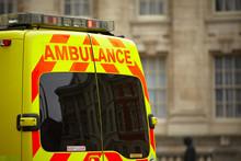 Door Of The Emergency Ambulanc...