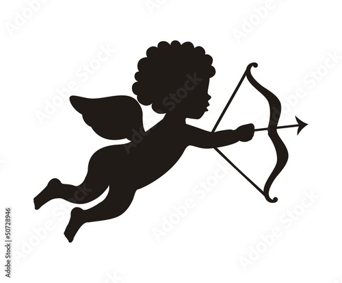 cupid vector Canvas Print