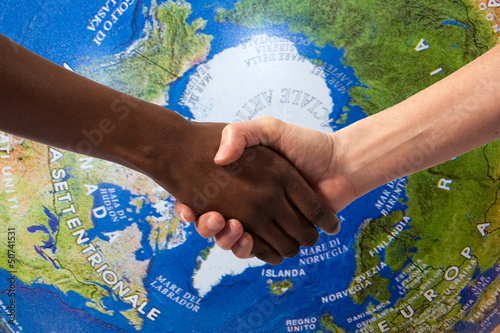 Fotografie, Obraz  No al razzismo