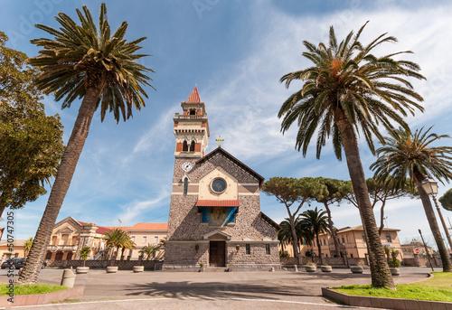 Sardegna, Arborea, Chiesa del Cristo Redentore Canvas Print