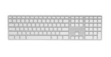 Keyboard With Blank Keys.