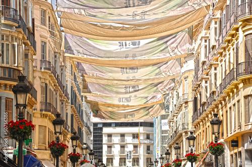 Calle Larios, Málaga, verano, estaciones del año, Andalucía, España
