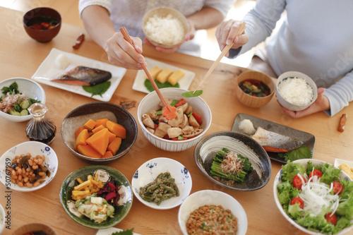 Fototapeta 日本の朝食 obraz