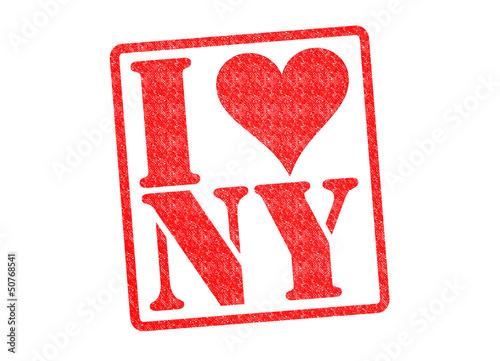 Fotografía  I LOVE NY Rubber Stamp
