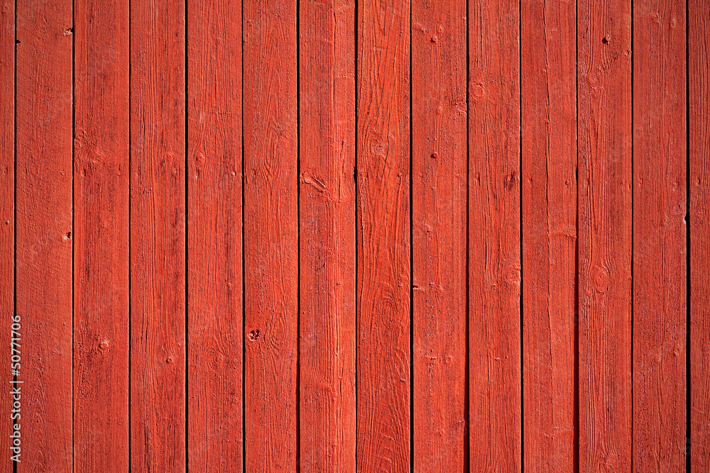 Fototapety, obrazy: Old red wood panels